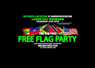 LABORDAYWEEKEND #FREE FLAG PARTY AMAZURA  tickets