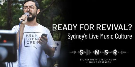 Ready for Revival? Keep Sydney Live tickets