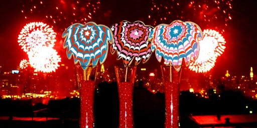July 4th Fireworks Cookie Platter DIY Decorating Workshop for Adults