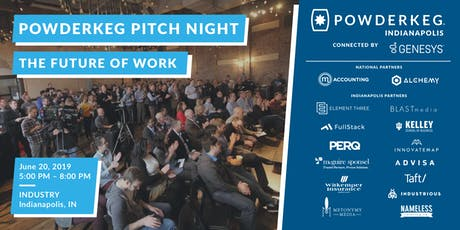Powderkeg Pitch Night: The Future of Work tickets
