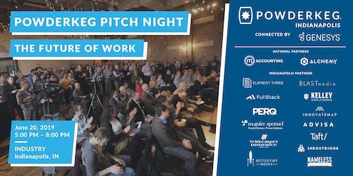 Powderkeg Pitch Night: The Future of Work