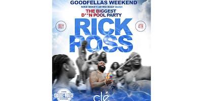 Rick Ross & Other Artists TBA at Clè July 4th