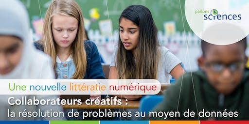 Collaborateurs créatifs: la résolution de problèmes au moyen de données pour les enseignants de la petite enfance jusqu'à la 6e année (St. John's)