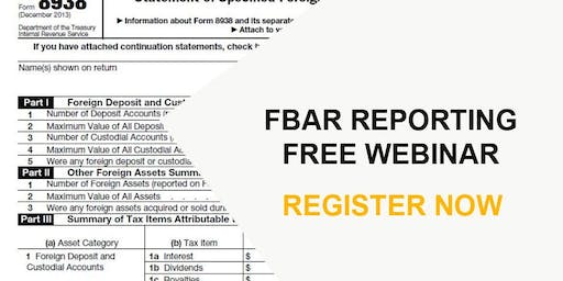2019 Foreign Income and Foreign Assets Reporting Requirements
