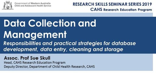 Research Skills Seminar: Data Collection and Management - 21 June