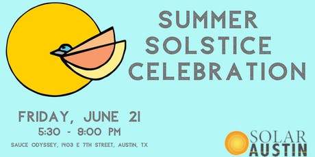 2019 Solar Austin Summer Solstice Celebration tickets