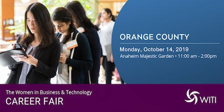 WITI 2019 Career Fair Orange County tickets