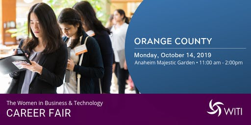 WITI 2019 Career Fair Orange County