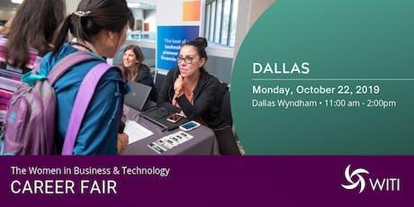 WITI 2019 Career Fair Dallas tickets
