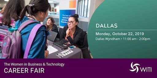WITI 2019 Career Fair Dallas