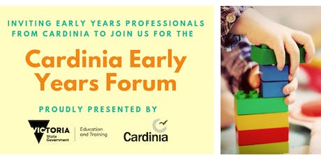 Cardinia Early Years Forum tickets