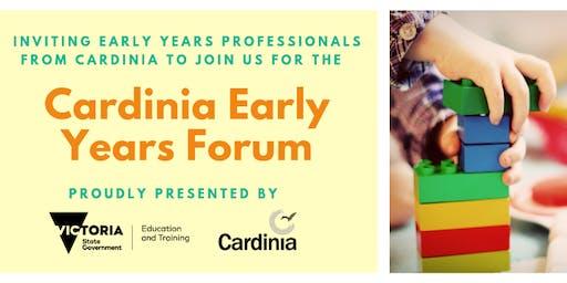 Cardinia Early Years Forum