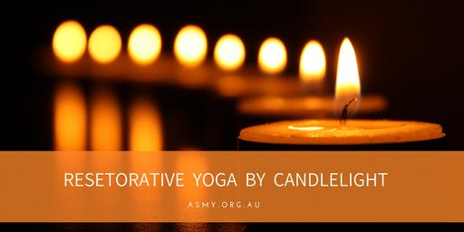 Restorative Yoga by Candlelight