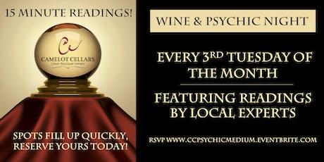 Wine & Psychic Night tickets