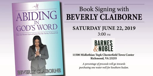 Book Signing with Beverly Claiborne