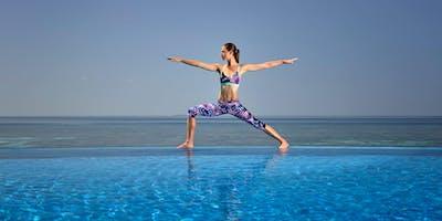 Yoga At The Pool