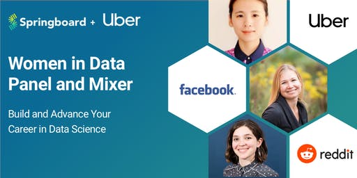 Women in Data Panel & Mixer: Build and Advance Your  Career in Data Science