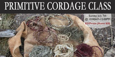 Primitive Cordage Class (make ropes from plants)
