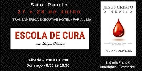 Escola de Cura - São Paulo ingressos