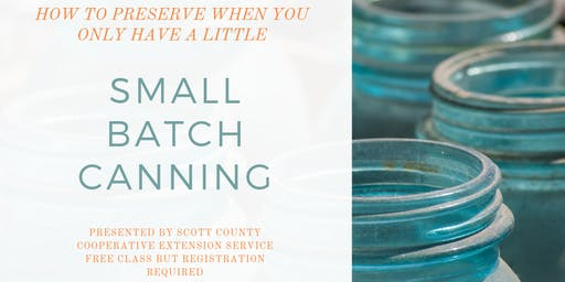 Small Batch Preserving