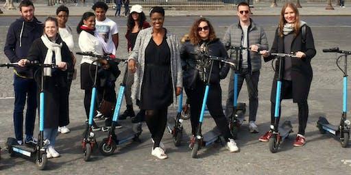 """Visite à trottinette électrique """" 1 jour 1 arrondissement"""""""