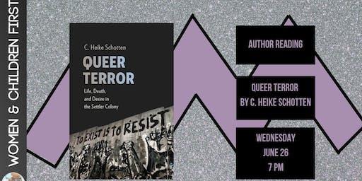Author Reading: Queer Terror by C. Heike Schotten