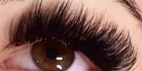 Russian Eyelash Extensions Mega Volume Training New Jersey tickets
