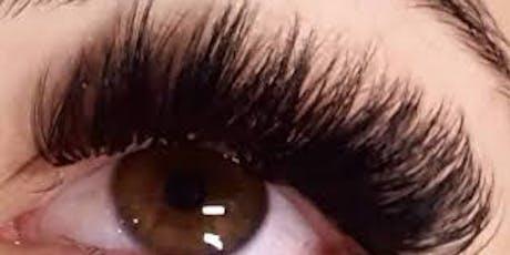 Russian Eyelash Extensions Mega Volume Training New Jersey tickets