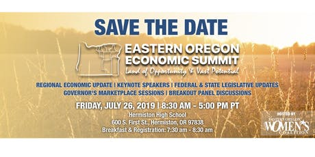 Eastern Oregon Economic Summit 2019 tickets