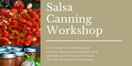 Salsa Canning Workshop