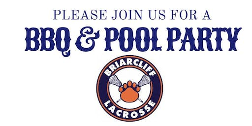 *RAIN DATE 6/20 *- Briarcliff Youth Lacrosse Year-End BBQ & Pool Party