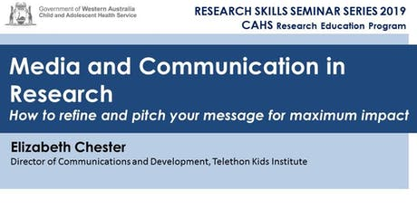 Research Skills Seminar: Media and Communications in Research - 28 June tickets