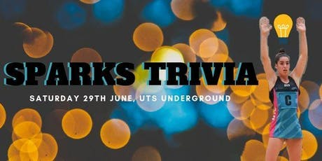 UTS Sparks | Trivia Night tickets