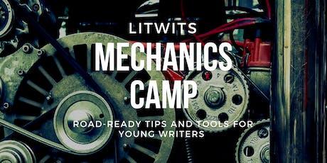 Jan 6-10: LitWits® Mechanics Camp: Writing Tips & Tools tickets