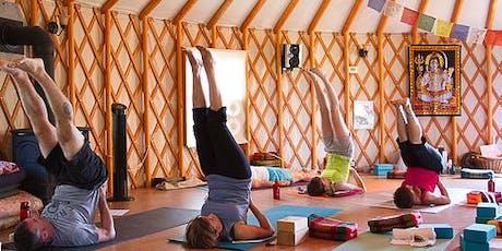 $5 Yurt Yoga tickets