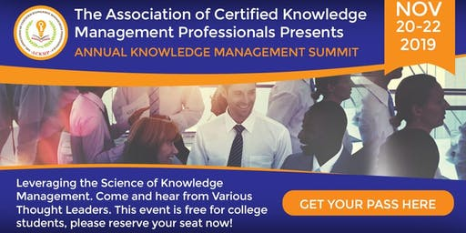 Annual Knowledge Management Summit