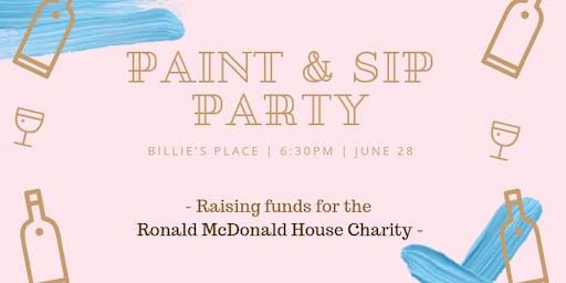Billie's Paint & Sip Party