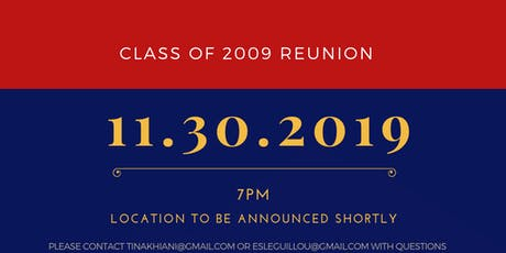 Stuyvesant High School Class of 2009 10-Year Reunion tickets