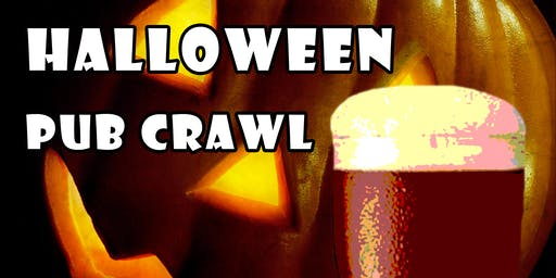Visalia's 2nd Annual Halloween Pub Crawl