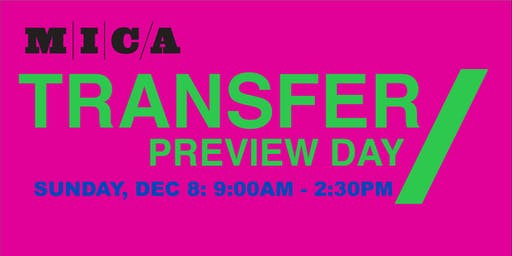 MICA Transfer Preview Day 2019