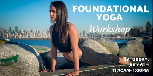 Foundational Class - Yoga Workshop