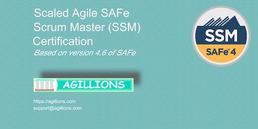 SAFe Scrum Master(SSM) 2 day Certification Class - Bridgewater, NJ