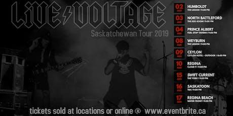 Live Voltage ACDC Tribute Regina Cloud 9 tickets