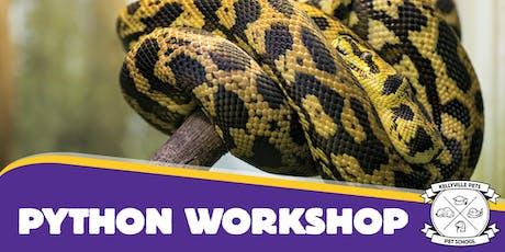 Python Workshops 2019 tickets