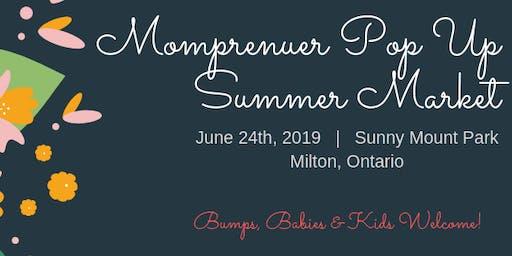 Momprenuer Pop Up Summer Market