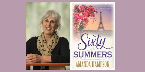 Best-selling author event: Sixty Summers by Amanda Hampson