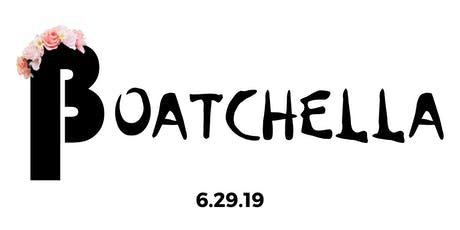 Boatchella by Backpocket tickets