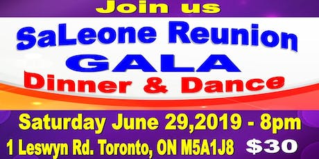 SaLeone Reunion Gala (Dinner & Dance ) - Celebrating SaLeone Communities tickets