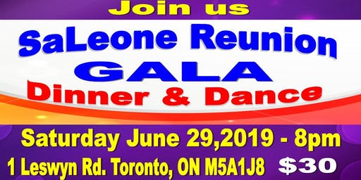 SaLeone Reunion Gala (Dinner & Dance ) - Celebrating SaLeone Communities