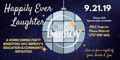 Happily Ever Laughter - OKC Improv Benefit